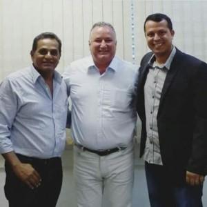 AC, dep Federal. Ronaldo Carletto e o ex-secretário Alexei Vinícius.