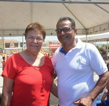 Dep. Fátima Nunes e o prefeito Antonio Chaves